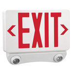 Exitronix TEM-WB-WH - LED Combination Exit Sign